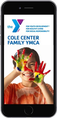 Photo of Cole YMCA Mobile Phone App